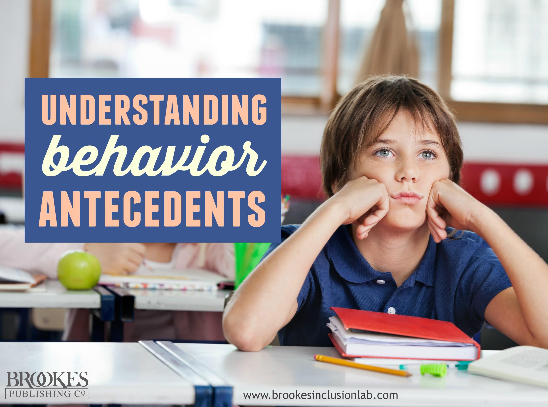 Why Does Jordan Misbehave?: Understanding Your Students' Behavior Antecedents