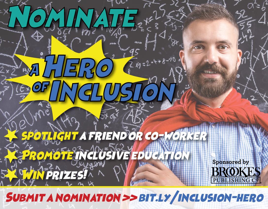 nominate a hero of inclusive education