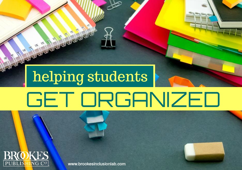 helping students get organized