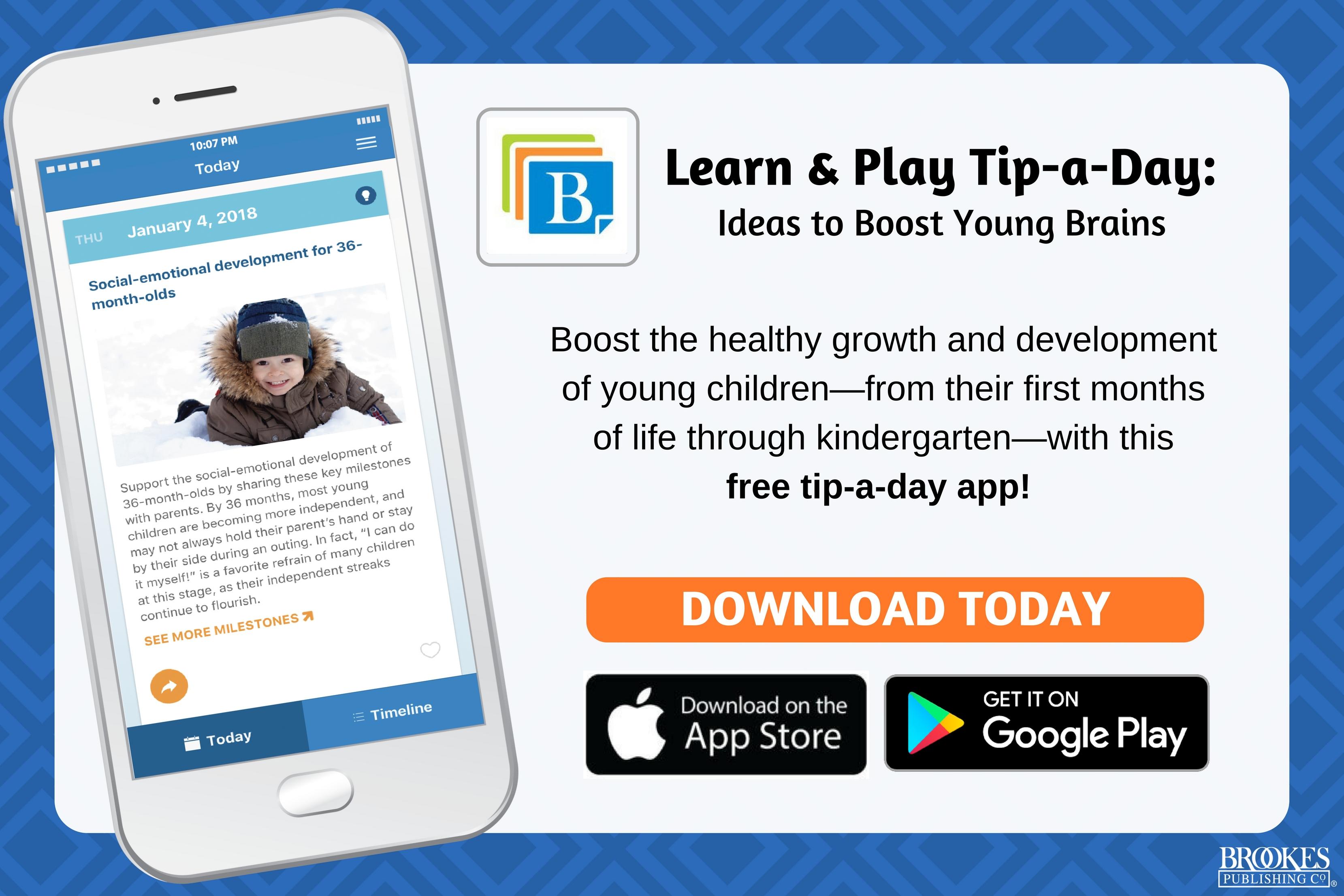 FREE Early Childhood calendar app! | Inclusion Lab