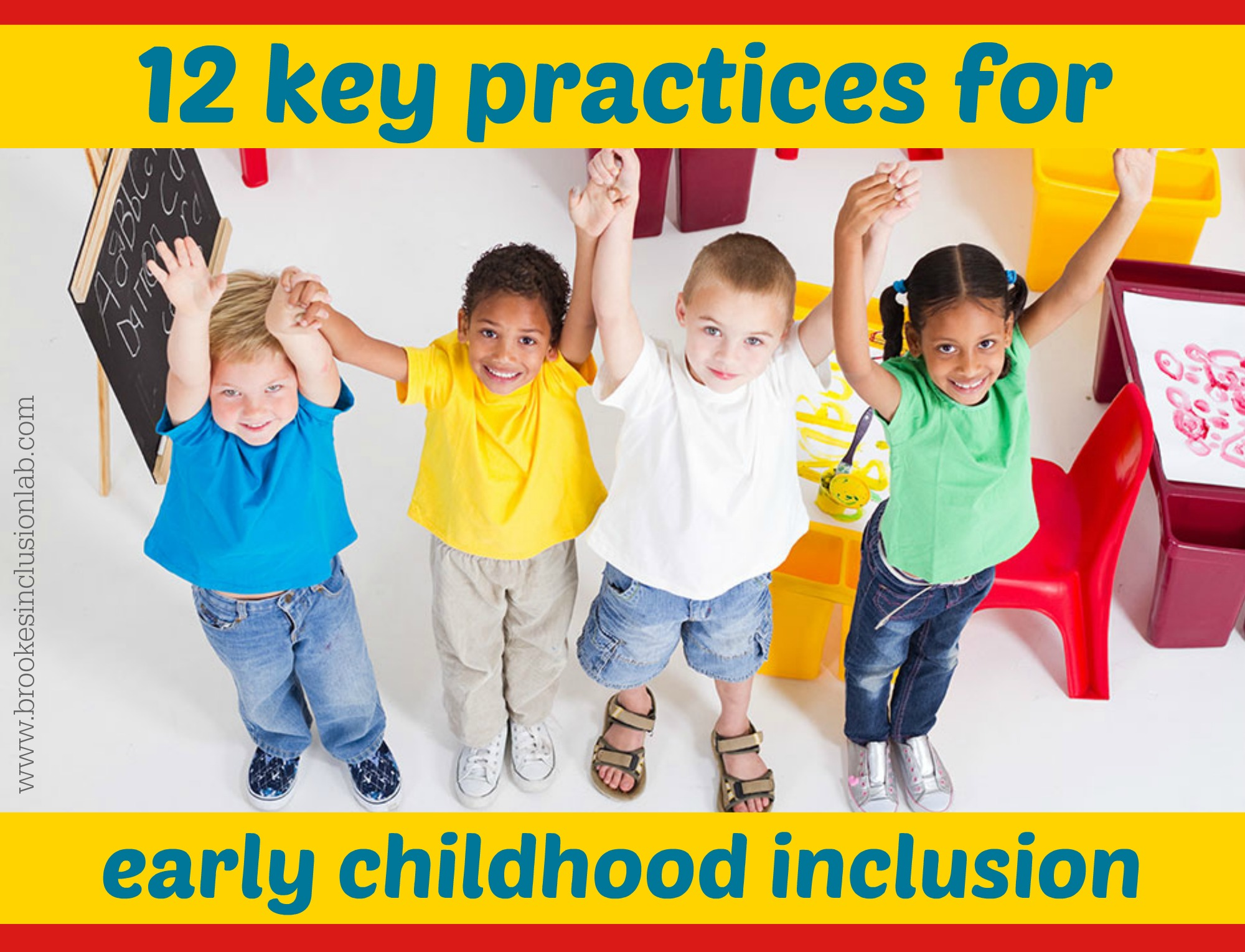 12 key practices for high quality early childhood inclusion